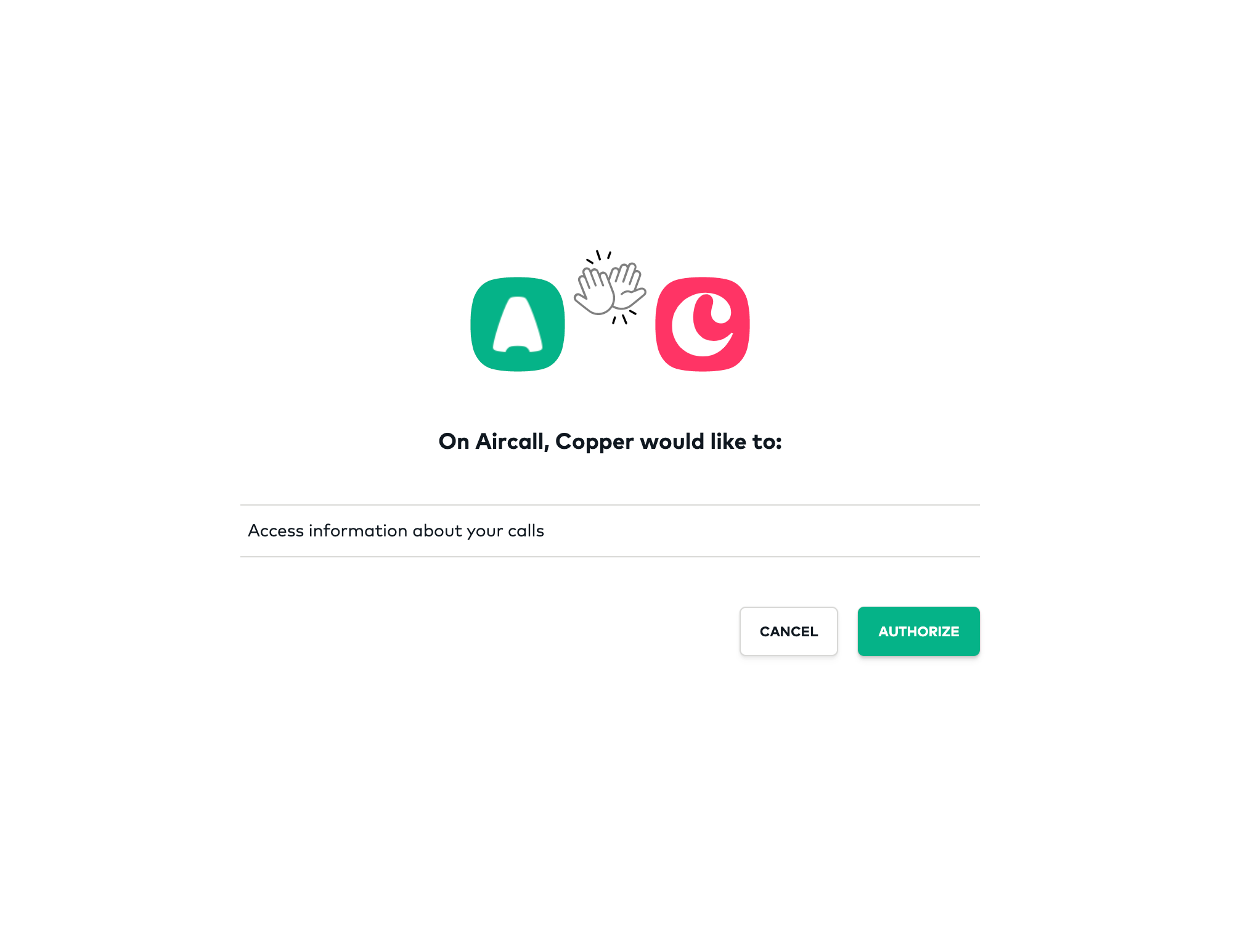 copper_aircall_1stauthentication.png